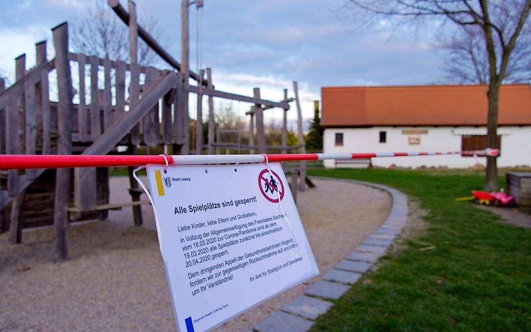 Einschränkungen des öffentlichen Lebens in Sachsen – Stadt wird Verfügung des Freistaats kontrollieren und durchsetzen
